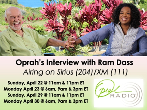 Oprah and Ram Dass