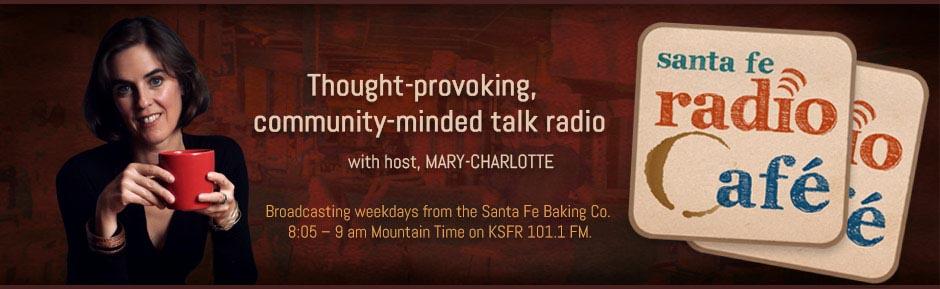 Ralph Metzner on Santa Fe Radio Cafe