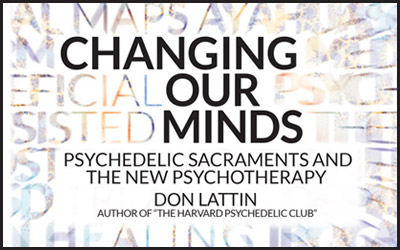 """Don Lattin's """"Changing Our Minds"""" Coming in April"""