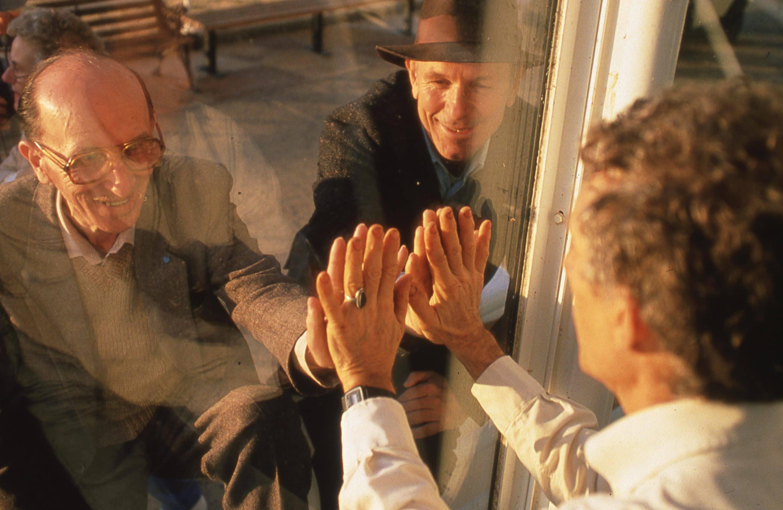 The biospherian handshake | Life Under Glass