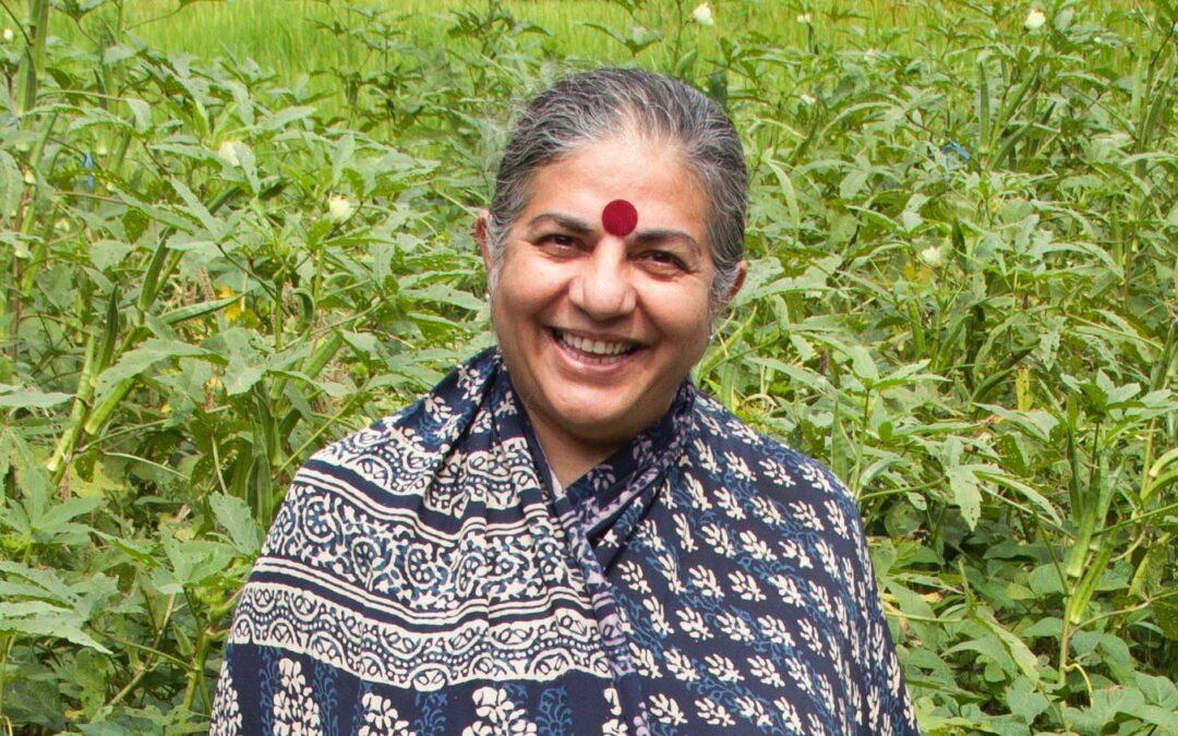Vandana Shiva Fights Patents on Seeds
