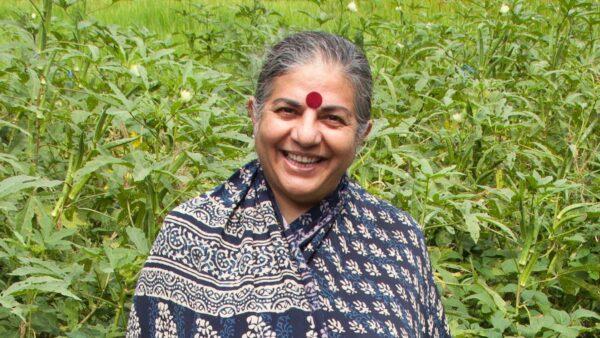 Vandnana Shiva Fights Patents on Seeds