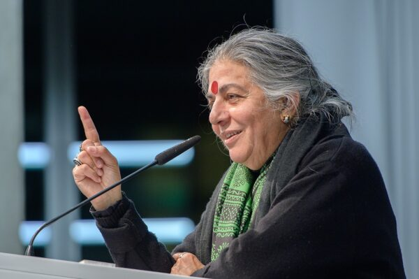 Vandana Shiva (Autorin, Aktivistin) Foto: Stephan Röhl