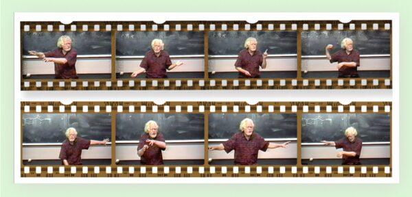 Sasha Shulgin teaching at UCSF